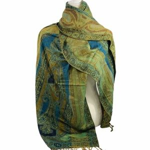 Collectioneighteen Green & blue beautiful Scarf